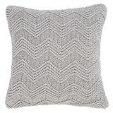 Bianca Soft Knit Cushion Cover Grey - 100% Cotton