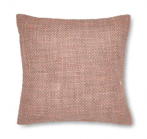 Catherine Lansfield Tonal Weave Cushion Cover - Pink