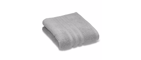 Catherine Lansfield Silver Towels