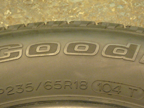 235/65/R18 Used Tires as Low as $50