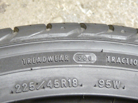 225/45/R18 Used Tires as Low as $50