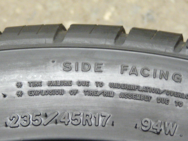 235/45/R17 Used Tires as Low as $45