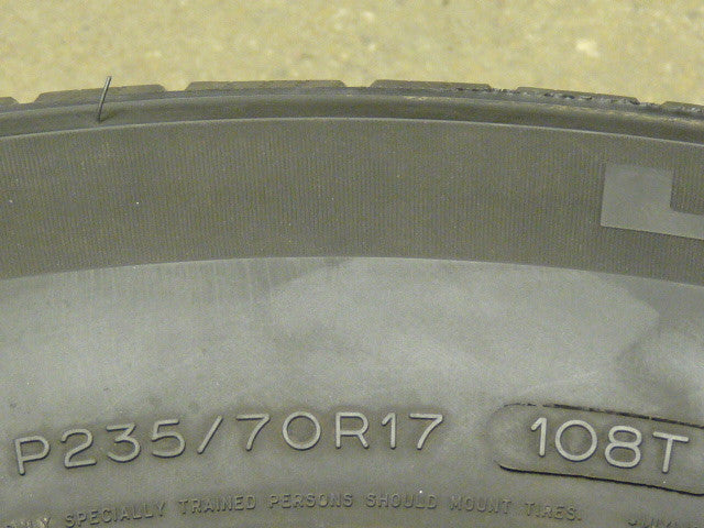 235/70/R17 Used Tires as Low as $45