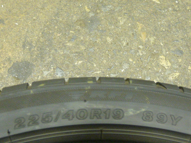 225/40/R19 Used Tires as Low as $55