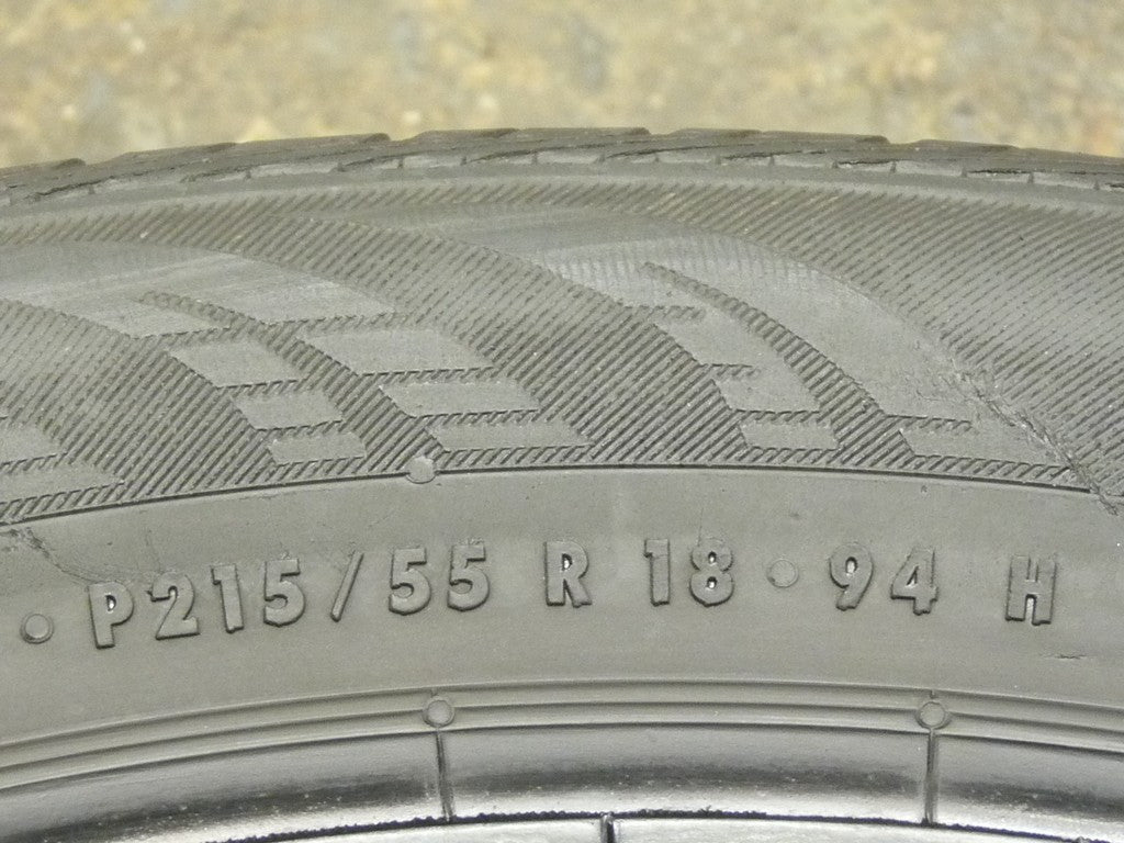 215/55/R18 Used Tires as Low as $50