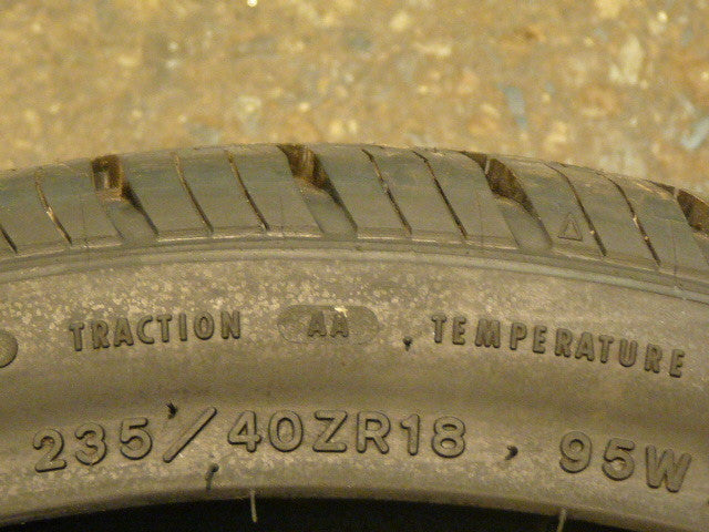 235/40/R18 Used Tires as Low as $50