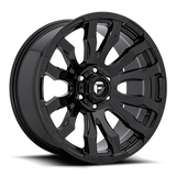 Fuel Blitz D675 18x9 -12 6x135 Gloss Black