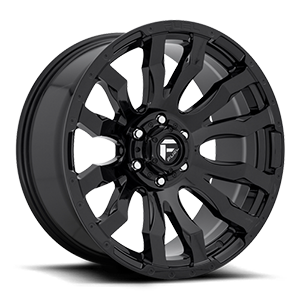 Fuel Blitz D675 22x12 -44 8x180 Gloss Black