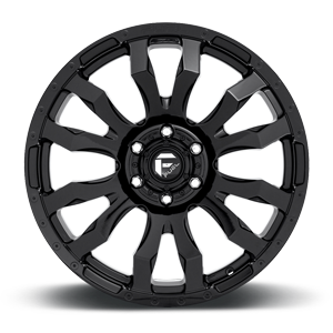 Fuel Blitz D675 18x9 -12 6x139.7(6x5.5) Gloss Black