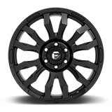 Fuel Blitz D675 18x9 -12 8x170 Gloss Black