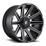 Fuel Contra D616 20x9 1 6x120/6x139.7(6x5.5) Matte Black and Milled