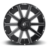 Fuel Contra D616 18x9 -12 6x135/6x139.7(6x5.5) Matte Black and Milled