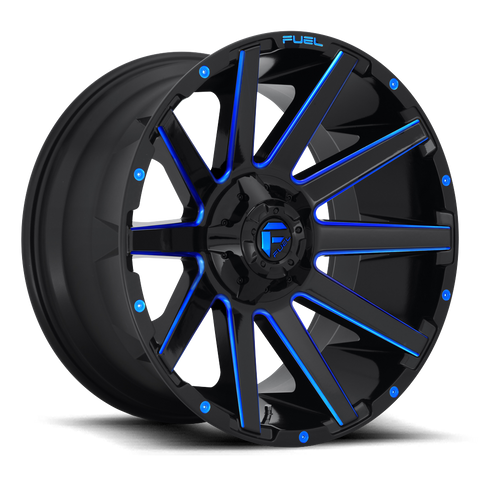 Fuel Contra D644 20x10 -18 8x180 Candy Blue
