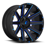 Fuel Contra D644 22x12 -44 8x170 Candy Blue