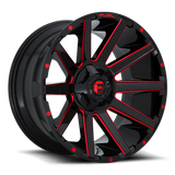 Fuel Contra D643 22x10 -18 5x139.7(5x5.5)/5x150 Candy Red