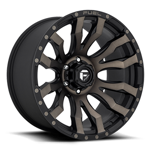 Fuel Blitz D674 18x9 -12 8x165.1(8x6.5) Black and Machined DDT