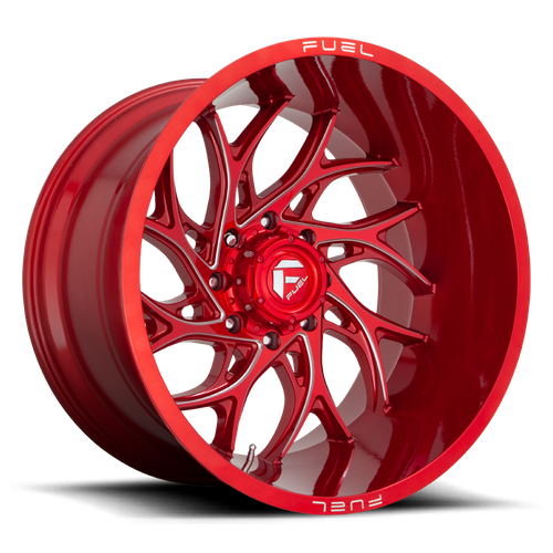 FUEL D742 RUNNER 24x12 -44 6x139.70 CANDY RED MILLED