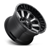 Fuel Hardline D620 22x12 -44 6x135/6x139.7(6x5.5) Black and Milled