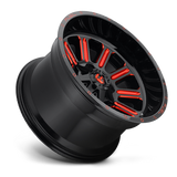 Fuel Hardline D621 18x9 -12 5x139.7(5x5.5)/5x150 Candy Red