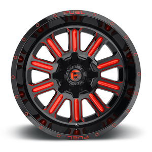 Fuel Hardline D621 20x10 -18 8x165.1(8x6.5) Candy Red