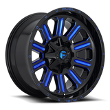 Fuel Hardline D646 20x10 -18 8x170 Candy Blue