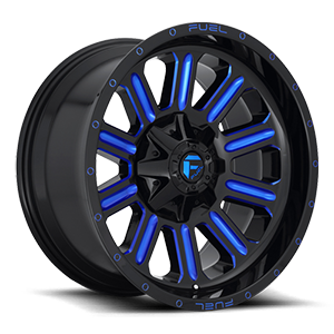Fuel D646 Hardline 20x10 Candy Blue