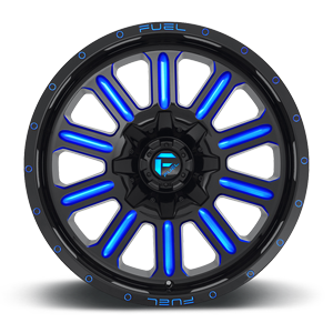 Fuel Hardline D646 20x10 -18 8x165.1(8x6.5) Candy Blue
