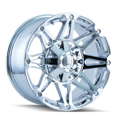 Mayhem 8010 Riot 18x9 18 8x180 Chrome
