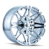 Mayhem 8010 Riot 17x8 10 5x127(5x5)/5x135 Chrome