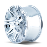 Mayhem 8010 Riot 17x8 10 5x139.7(5x5.5) Chrome