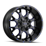 Mayhem 8015 Warrior 20x9 0 8x165.1(8x6.5)/8x170 Prism Blue