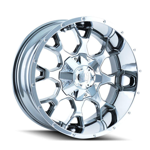 Mayhem 8015 Warrior 20x9 0 5x127(5x5)/5x139.7(5x5.5) Chrome
