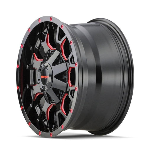 Mayhem 8015 Warrior 20x9 0 8x165.1(8x6.5)/8x170 Prism Red