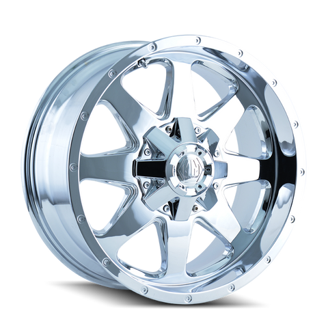 Mayhem 8040 Tank 20x9 -12 8x165.1(8x6.5)/8x170 Chrome