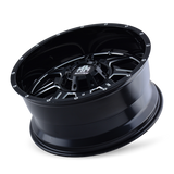 Mayhem 8100 Monstir 18x9 0 8x180 Black and Milled