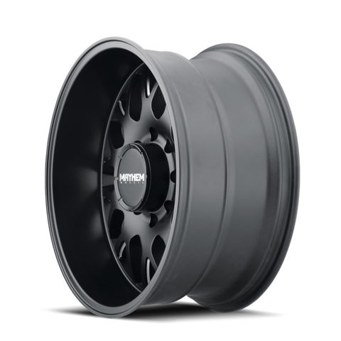 Mayhem 8107 Cogent 17x9 -12 8x165.1(8x6.5)/8x170 Black and Milled