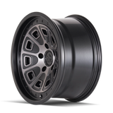 Mayhem 8301 Flat Iron 17x9 -6 6x139.7(6x5.5) Black and Dark