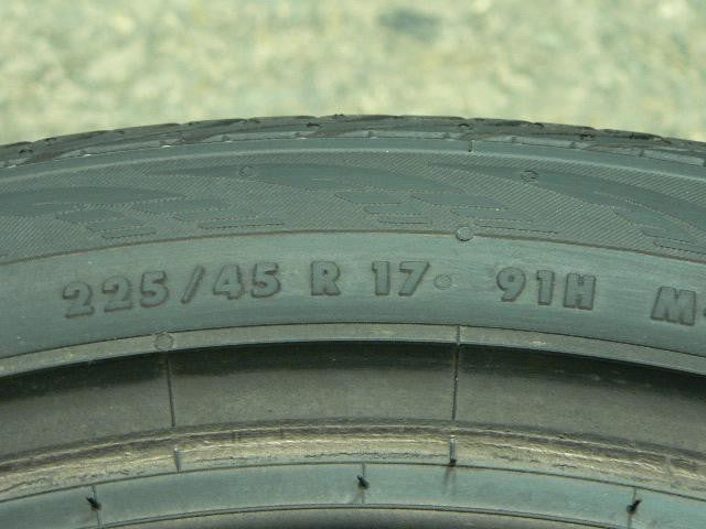 225/45/R17 Used Tires as Low as $45