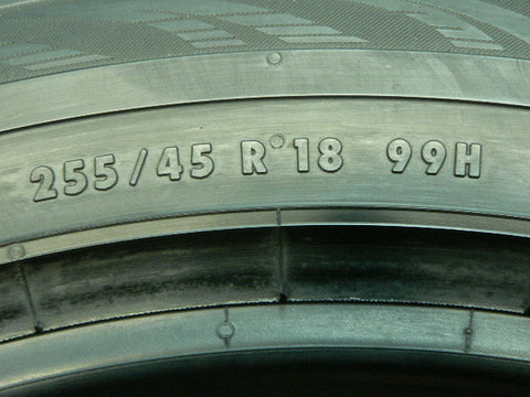255/45/R18 Used Tires as Low as $50