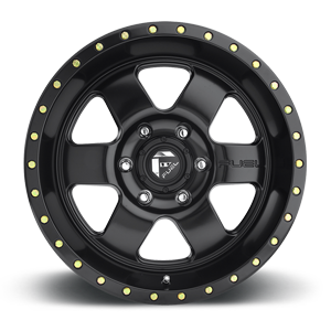 Fuel Podium D618 18x9 -12 5x127(5x5) Matte Black