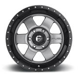 Fuel Podium D619 20x9 20 5x139.7(5x5.5) Gray and Black