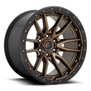 Fuel Rebel 6 D681 20x9 1 8x180 Black and Bronze