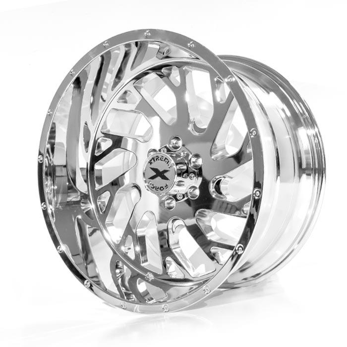 Xtreme Force XF-8 22x12 -44 6x139.7 (6x5.5) Chrome