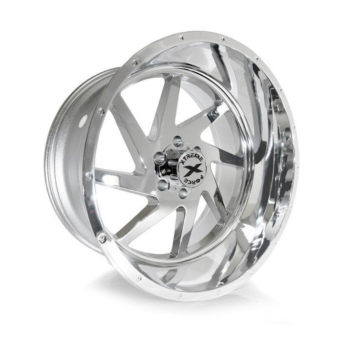 Xtreme Force XF-6 24x14 -76 8x165.1 (8x6.5) Chrome