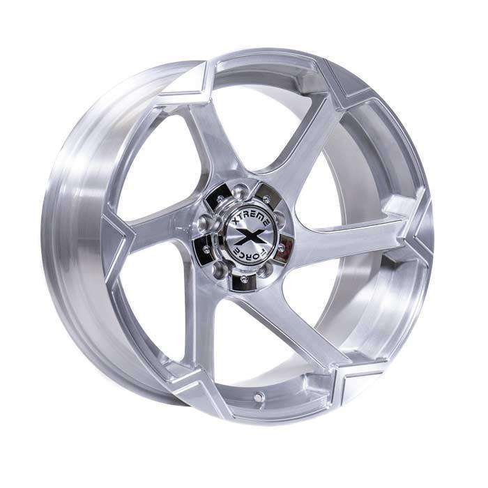 Xtreme Force XF-11 20x10 -25 6x139.7 (6x5.5)/6x135 Full Brushed