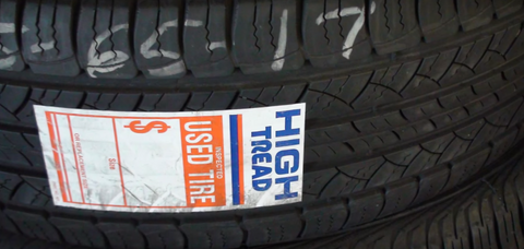 "20"" Tires Like New 75% or more Life - High Tread Our Best Tire"