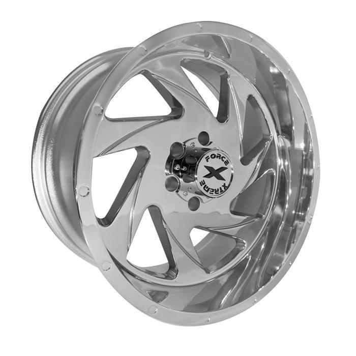 Xtreme Force XF-7 24x14 -76 6x135 Chrome