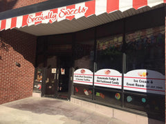 Specialty Sweets 31 Main St. Downtown Bangor Featuring the Upper Room