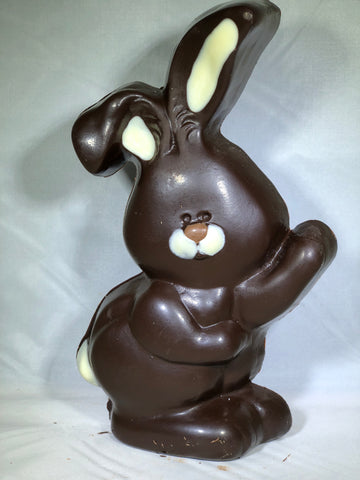 Dark chocolate solid chubby bunny Specialty Sweets Bangor Maine