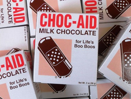 Choc-Aid Novelty Chocolate First Aid Bandages